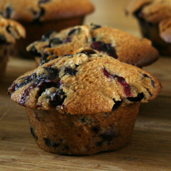 Healthy Blueberry Muffins