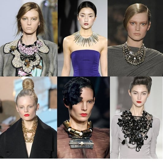 Fall 2009 Trend Report: Oversize Necklaces Still Favored
