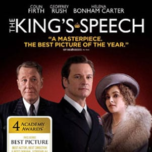 The King's Speech Available on DVD