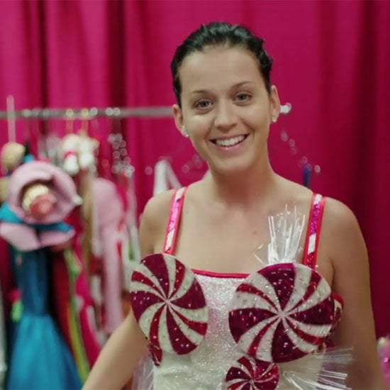 Katy appears makeup-free in some scenes, a rare move for the star who is known for her extravagant hair and makeup. Photo courtesy of Paramount Pictures