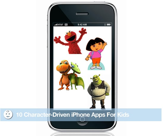 iPhone Character Apps For Kids