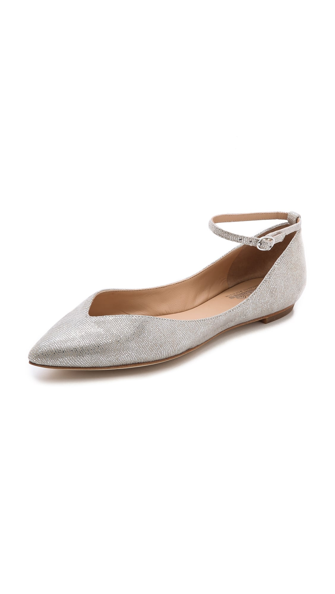 Belle by Sigerson Morrison Pointed-Toe Flats