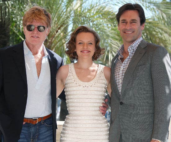 Slide Picture of Robert Redford, Elisabeth Moss, and Jon Hamm in Cannes