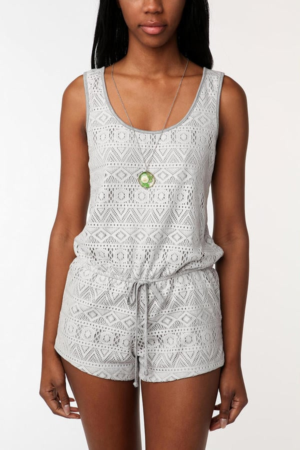 Pins and Needles Crochet Romper ($54)