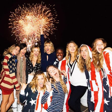 Taylor Swift Fourth of July Party 2016