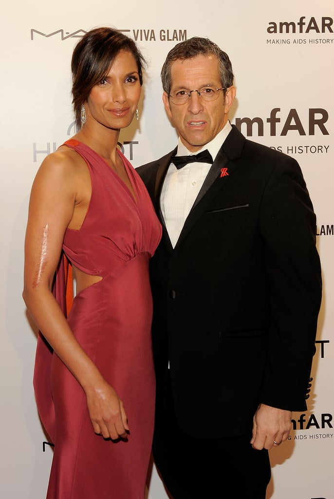Kenneth Cole and Padma Lakshmi attended the 2012 amfAR gala in NYC.