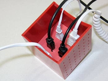 Hide Cords With Sleek Cubic Extension