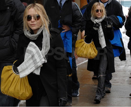 Mary-Kate Olsen Enjoys Sundance and I'm Off To Join Her!