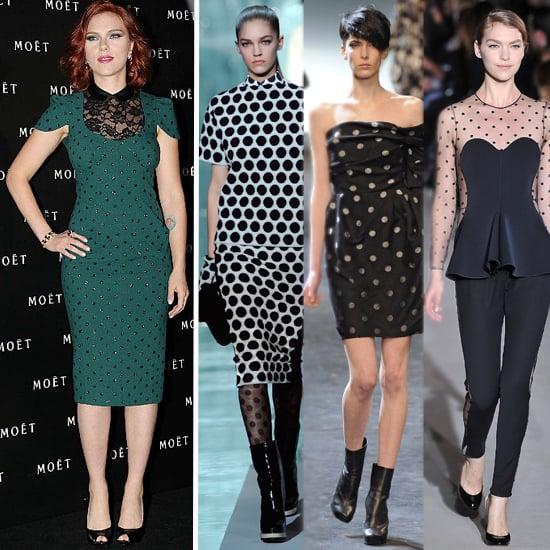 Polka Dot Tops, Dresses For Fall 2011
