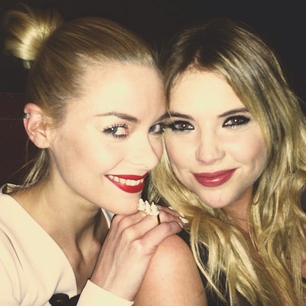 Jaime King and Ashley Benson posed together at a Nylon magazine party. Source: Instagram user jaime_king