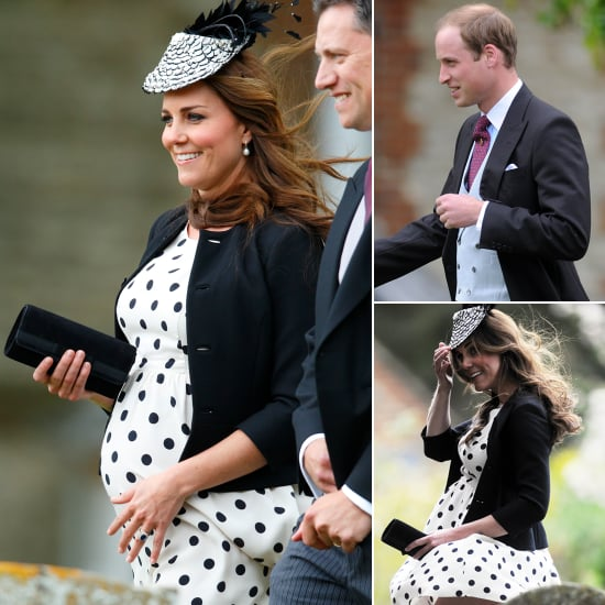 Kate Middleton Gets Swept Away at a Friend's Windy Wedding