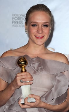 Chloe Sevigny Is the 2010 Golden Globe Winner For Best TV Supporting Actress 2010-01-17 18:54:21