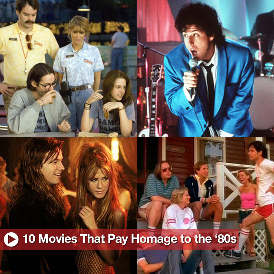 Sugar Shout Out: 10 Movies That Pay Homage to the '80s!