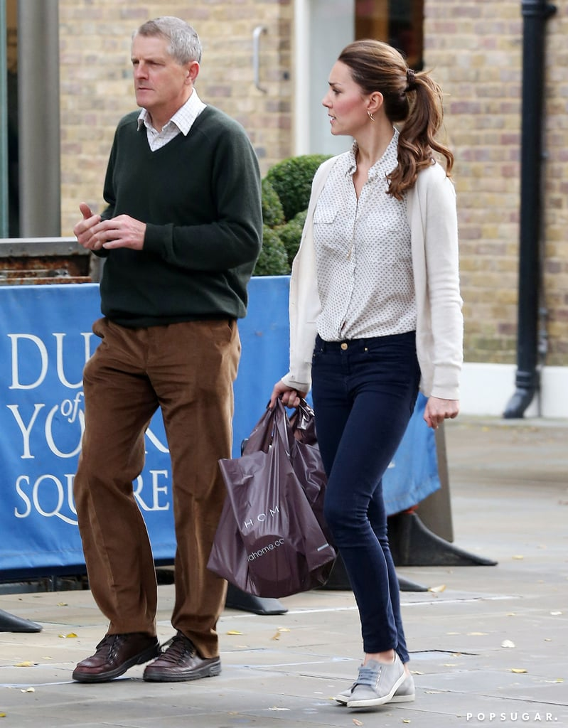 Kate Middleton walked with a friend through London.