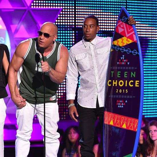 Vin Diesel's Paul Walker Speech at Teen Choice Awards 2015