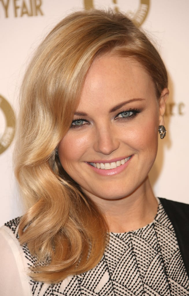 Malin Akerman attended a Vanity Fair and Juicy Couture bash in LA.