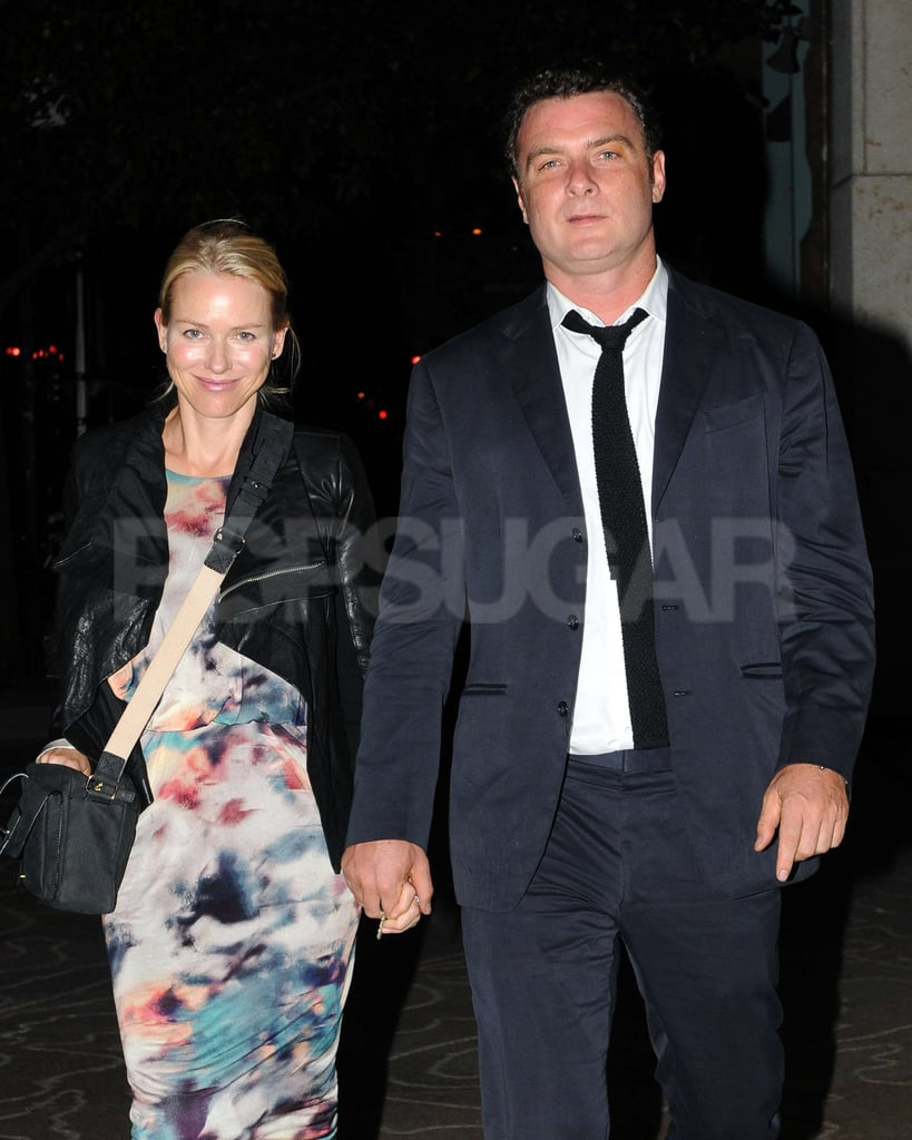 Naomi Watts and Liev Schreiber dressed up for a date night.