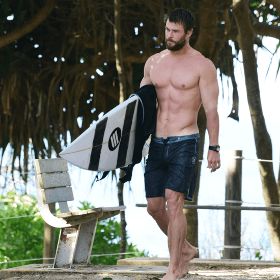 Chris Hemsworth Shirtless in Australia April 2016