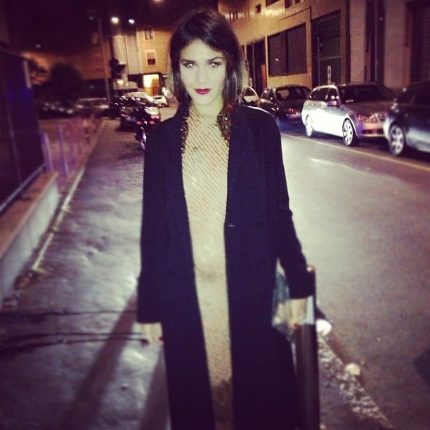 Margherita Missoni shared a stunning photo from the streets of Milan. Source: Instagram user mmmargherita