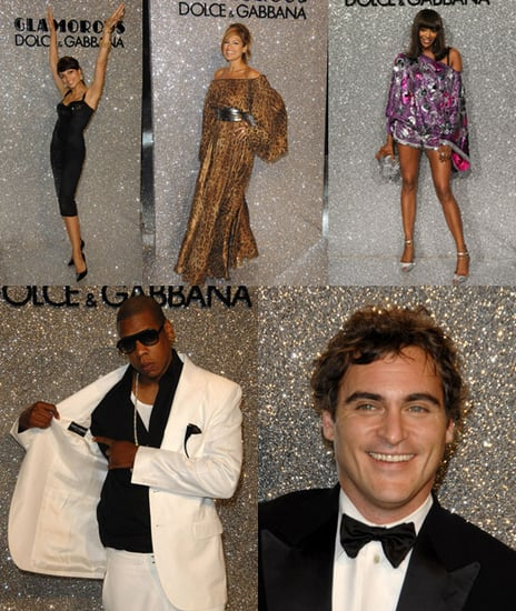 D&G Celebrates Cannes With Celeb Friends...And Glitter!