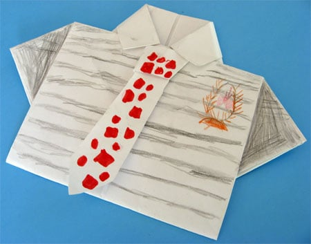 Lil Links: Save Cash and Make Daddy an Origami Card