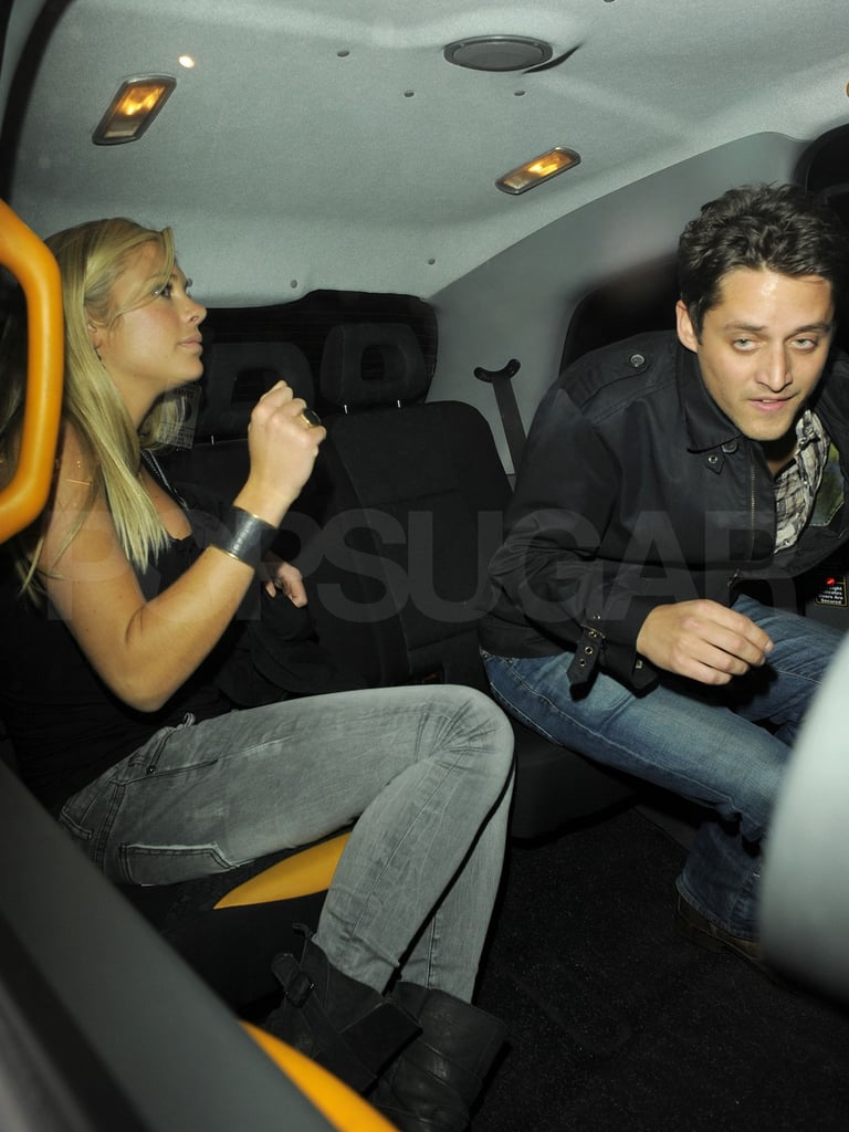Chelsy Davy's night out at London's Boujis.
