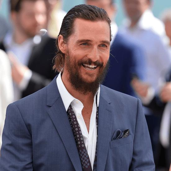 Matthew McConaughey at Cannes 2015