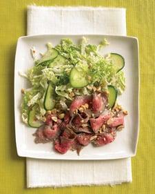 Quick, Healthy, Easy Asian Steak Salad Recipe