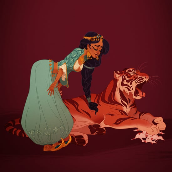 Historical Versions of Disney Princesses by Claire Hummel