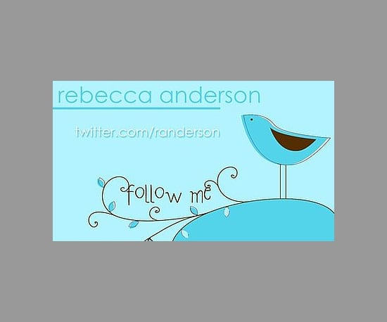 Twitter Business Cards