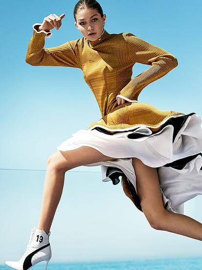 #GoldGoals: Gigi Hadid Lands Her First Vogue Cover and It's Olympics-Themed