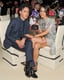 Aubrey Plaza got comfortable inside the Met Gala on Monday.  Source: Billy Farrell/BFANYC.com