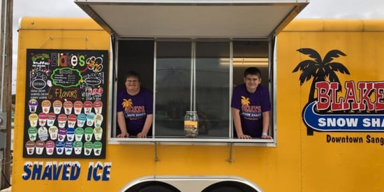 Man With Down Syndrome Opens Cool Snow Cone Shack