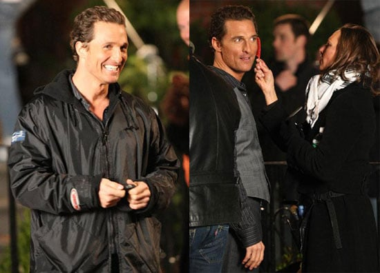 Matthew McConaughey Keeps His Hairs in Line