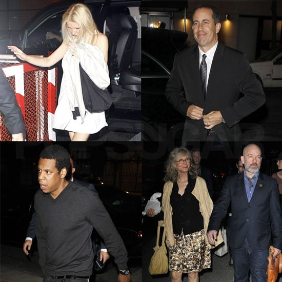 Gwyneth Gets Friends Like Chris, Jay, Mario, and Jerry Together to Launch Her Cookbook