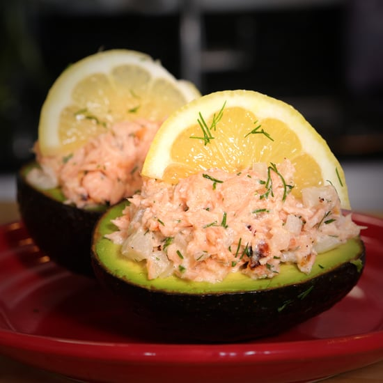 Salmon-Stuffed Avocado Recipe