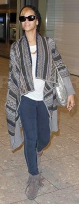 Travel Style: Rihanna