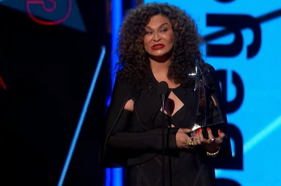 Tina Knowles Lawson Accepted Beyoncé's BET Award Like A Total Boss
