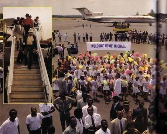 Michael Jackson in Gabon: So Bad, Just Beat It