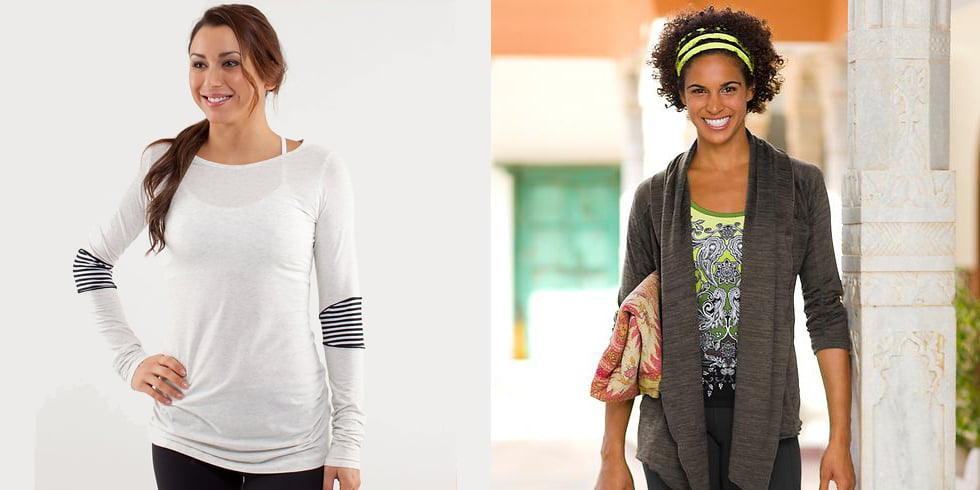 You'll Love These Long-Sleeved Yoga Layers