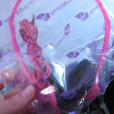 Complimentary Pink Headphones? You Shouldn't Have!