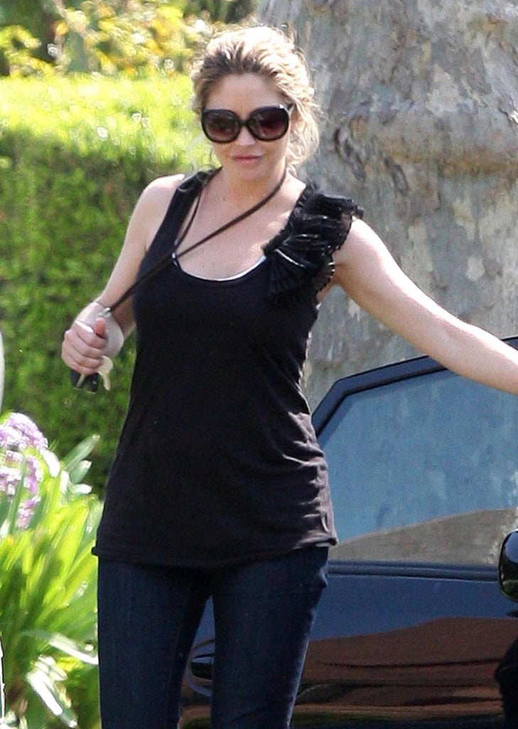 Rebecca Gayheart Out and About After Baby Billie!