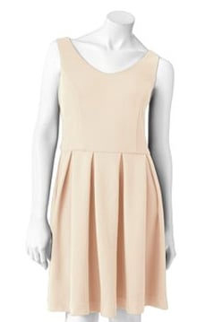 Just top this LC Lauren Conrad Textured Fit & Flare Dress ($42, originally $60) with a blazer for a sweet girl-meets-boardroom look.