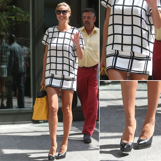 Shop Heidi Klum's Monochromatic Prints