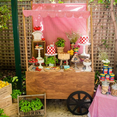 Italian-Inspired Birthday Party For Kids