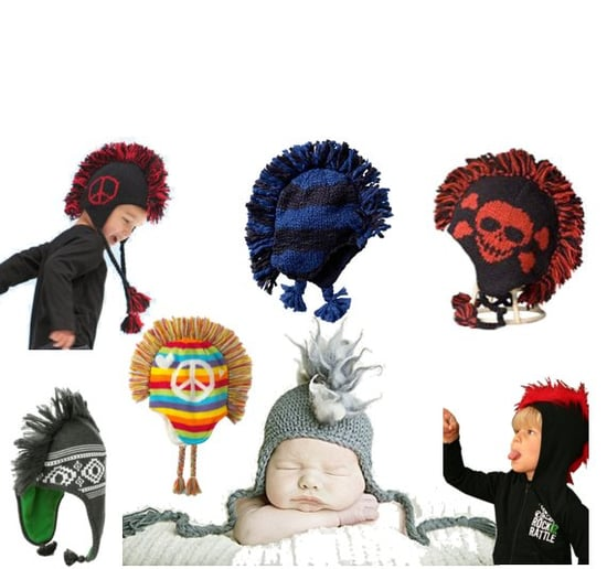 Mohawk Hats For Kids