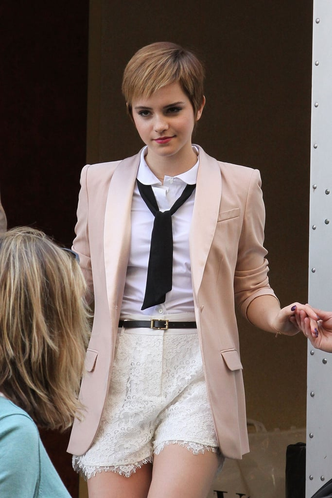 Emma Watson Steps Up For Her Lancome Paris Photo Shoot