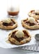 Individual Apple Galettes With Caramel Sauce