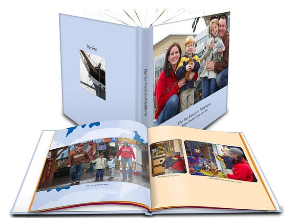 Shutterfly Hardcover Photo Book (prices vary)