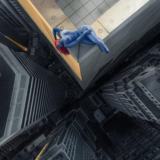 Real Superheroes Pose 40 Stories Above San Francisco